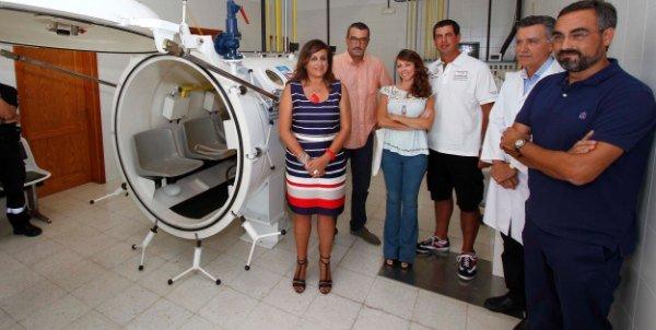 Sólo hay dos Servicios de Medicina Hiperbárica acreditados en Canarias